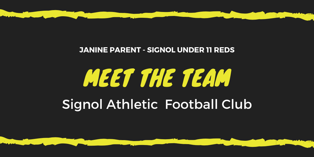 Meet The Team – Parent Janine Signol U11 Reds