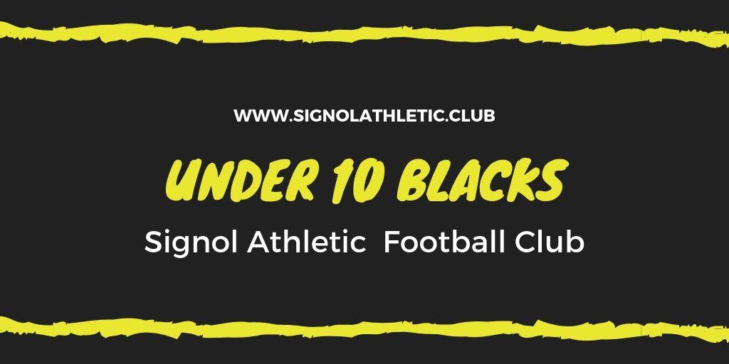 Signol Under 10 Blacks