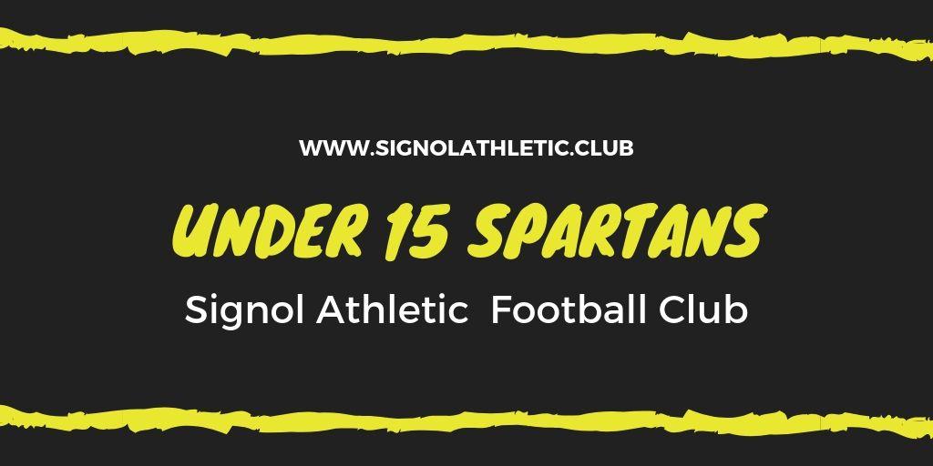 Under 15 Spartans