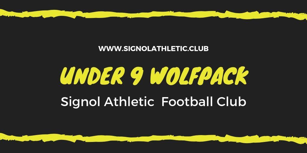 Signol Under 9 Wolf Pack