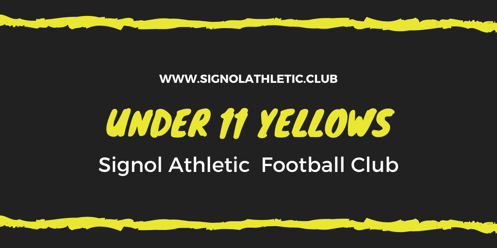 Under 11 Yellows 2020 – 2021 Season