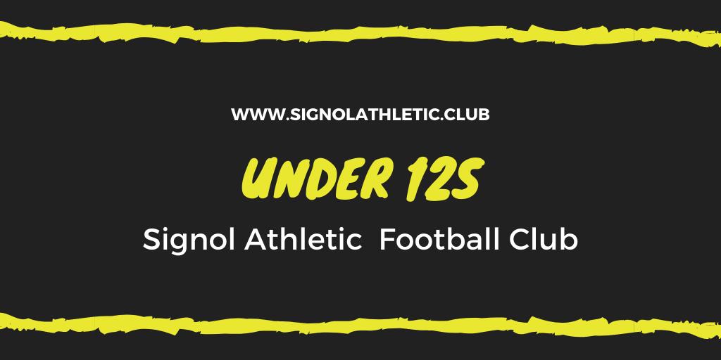 Under 12s 2020 – 2021 Season