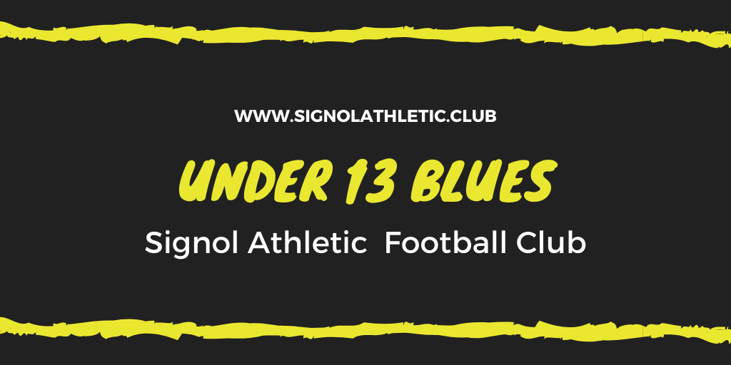 Under 13 Blues 2020 – 2021 Season