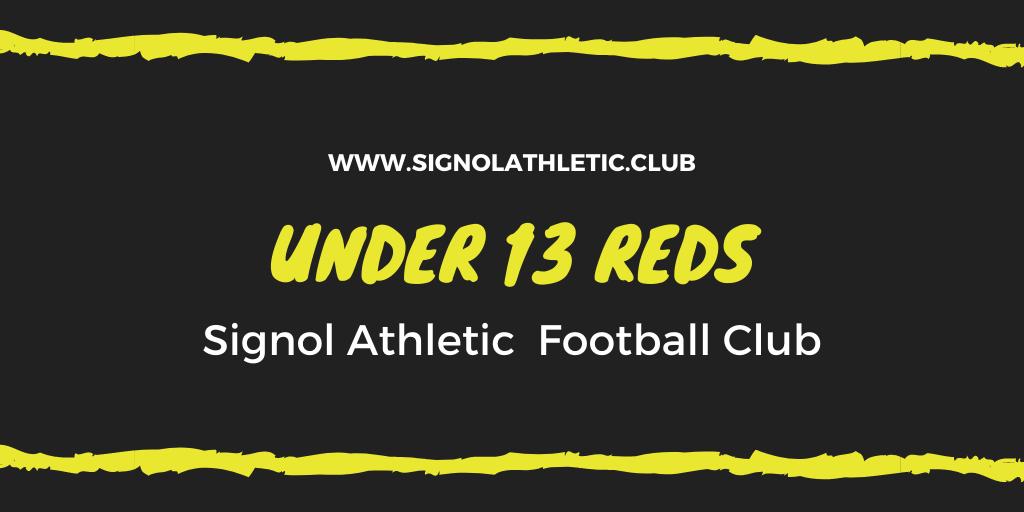 Under 13 Reds 2020 – 2021 Season