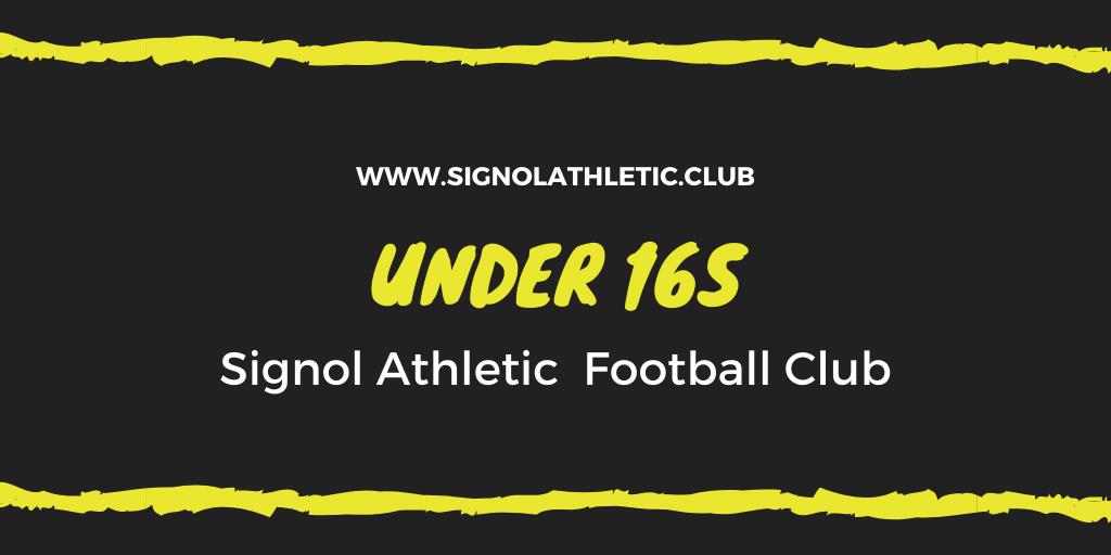 Under 16s 2020 – 2021 Season